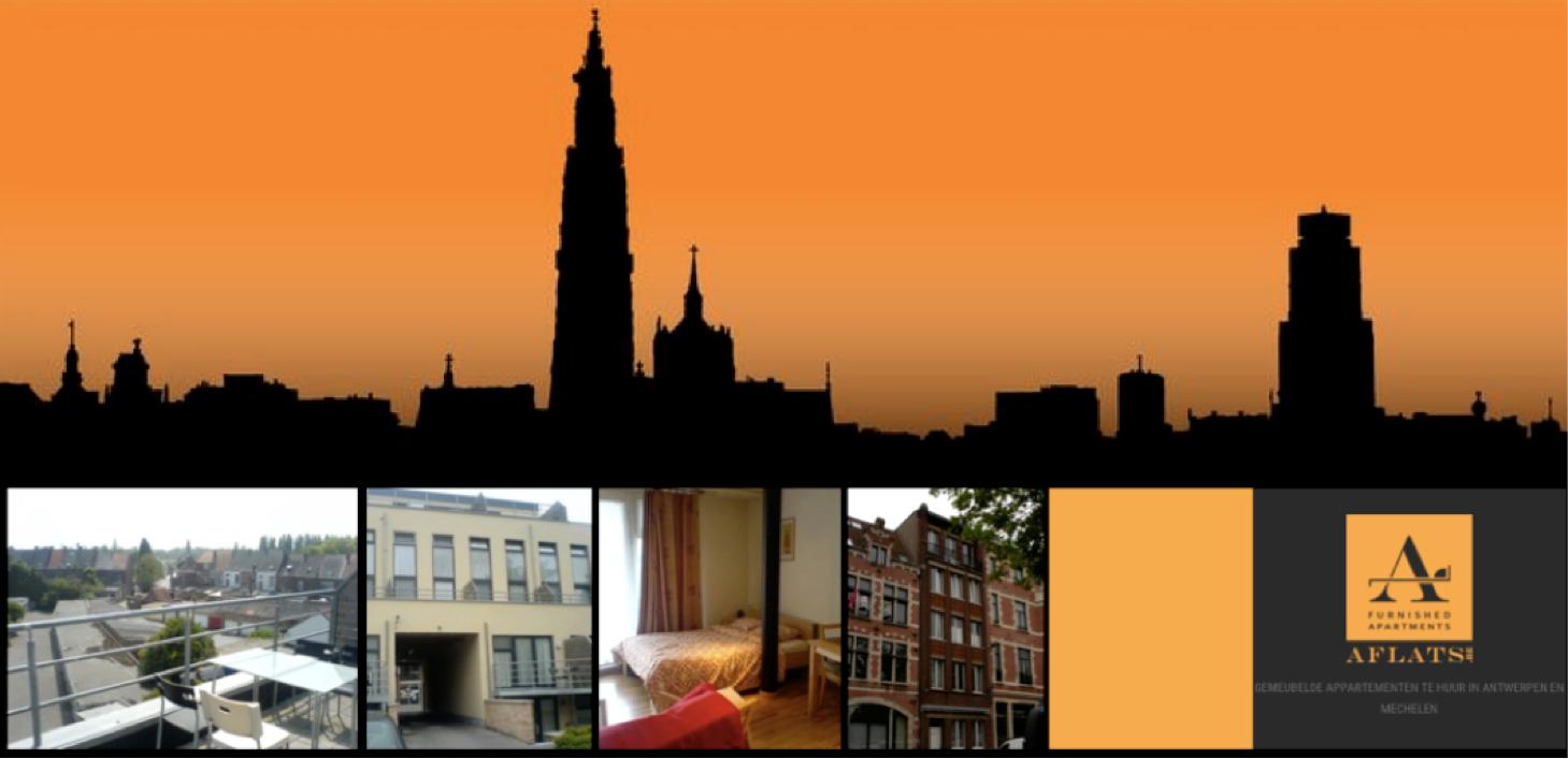Gemeubeld appartement te huur antwerpen aflats aflats for Te huur huis in antwerpen